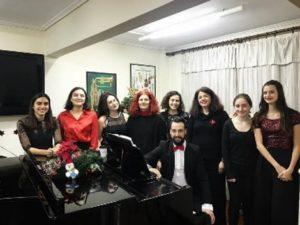 Συναυλία σύγχρονου τραγουδιού στο εθνικό ωδείο Χαλανδρίου - 08/12/2019